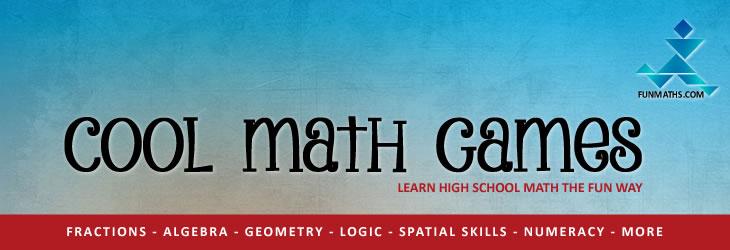 High school math games - learn high school math the fun way.