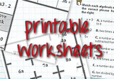 picture about Printable Maths Games and Puzzles named - large college math worksheets, jobs and