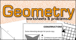 Printables Free Geometry Worksheets High School math worksheets and problems free printable high school geometry problems