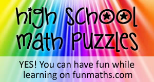 Printables Math Puzzle Games Worksheets math worksheets and problems free printable high school puzzles